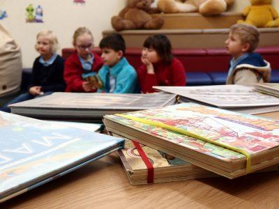 BDM: ABC młodego czytelnika. Biblioteka – ciekawe miejsce dla człowieka.