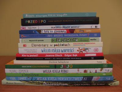 Sprawdź najnowsze książki w bibliotece