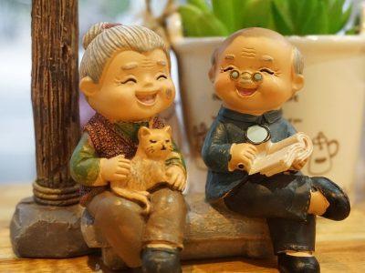 Babcia i Dziadek z perspektywy książki