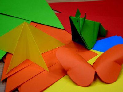 F4: Ferie w bibliotece. Warsztaty origami