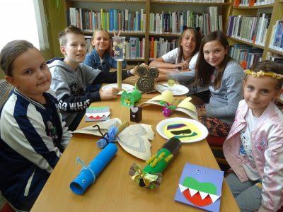F6: Pomysłowe wakacje – biblioteczne atrakcje