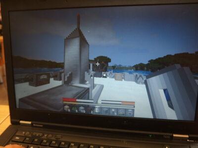 Wakacje z minecraftem w bibliotece. Spotkanie 4: Kosmos