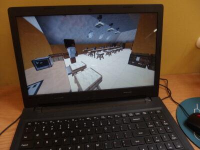 Wakacje z minecraftem w bibliotece. Spotkanie 6: Biblioteka