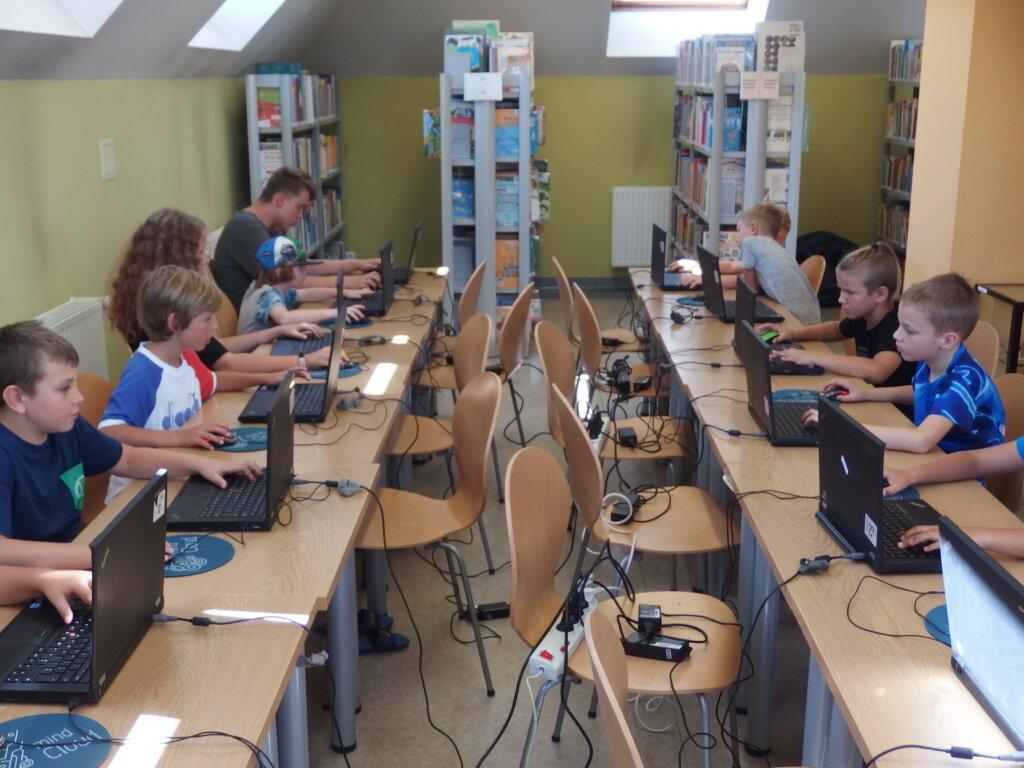 Wakacje z minecraftem w bibliotece. Spotkanie 7: Przyszłość