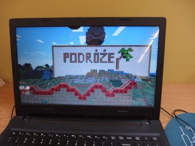 Wakacje z minecraftem w bibliotece. Spotkanie 8: Podróże