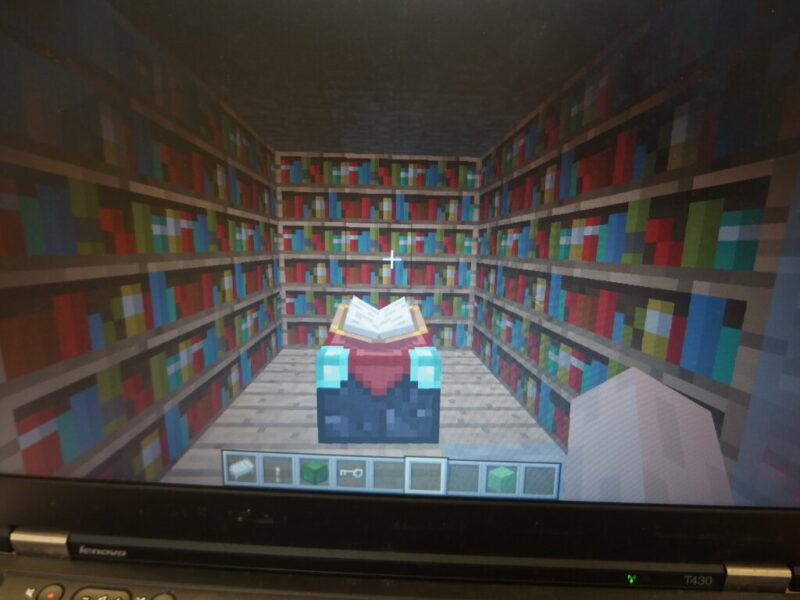 Wakacje z minecraftem w bibliotece. Spotkanie 9: Fantasy